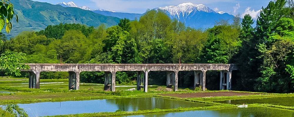 八乙女の水路橋