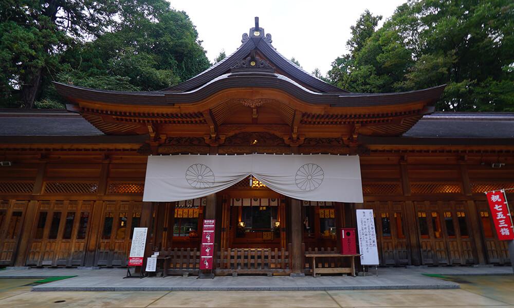 穂高神社・矢原堰